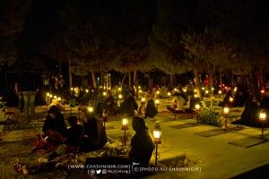مراسم احیا شب قدر در بهشت زهرا