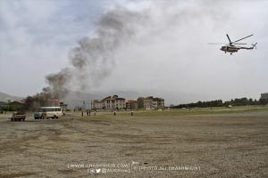 مانور امداد هوایی جمعیت هلال احمر