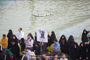 مراسم تشییع جنازه ۱۷۵ شهید غواص